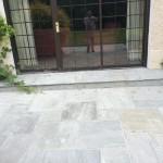 back door step