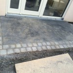 front porch paving