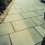 even your pet dog will admire the paving work